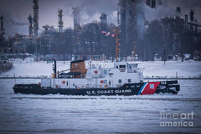 Photograph - Uscgc Bristol Bay by Ronald Grogan