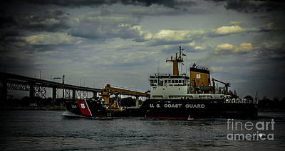 Photograph - Uscgc Hollyhock by Ronald Grogan