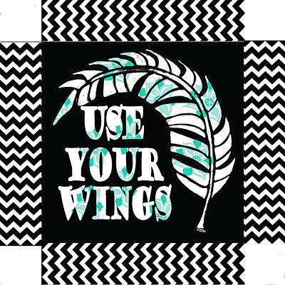 Use Your Wing Art Box Art Print by Shanni Welsh