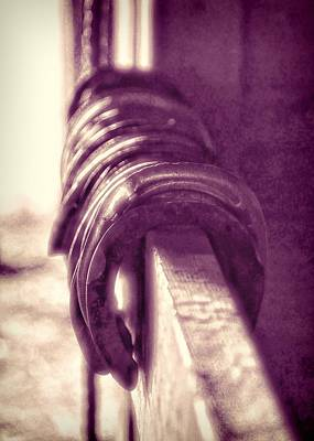Photograph - Used Steel by JAMART Photography