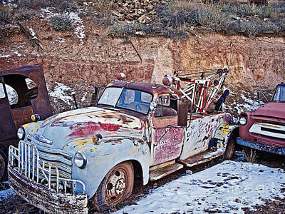 Photograph - Used To Be A Hard Workin Truck by Lee Craig