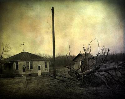 Abandoned House Digital Art - Used To Be by Gothicolors Donna Snyder