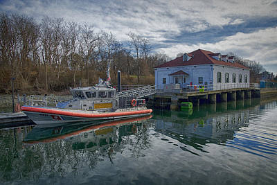 Coast Guard Photograph - Usgs Castle Hill Station by Joan Carroll
