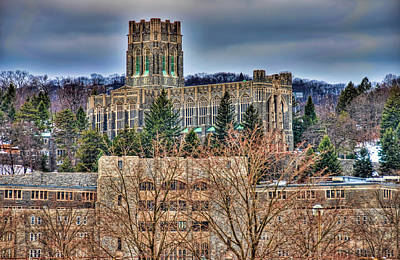 West Point Photograph - Usma Cadet Chapel by Dan McManus