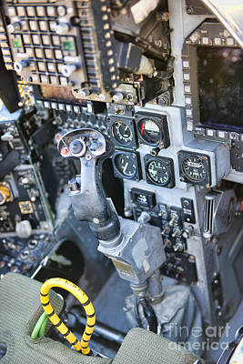 Photograph - Usmc Av-8b Harrier Cockpit by Olga Hamilton