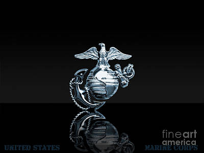 Usmc Art Print by Marines