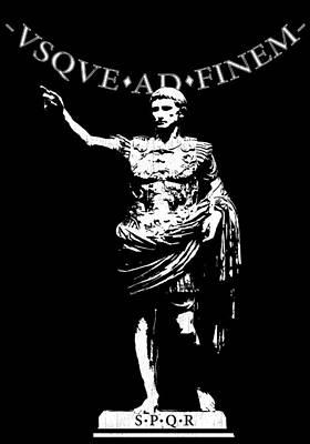 Caesar Augustus Digital Art - Usque Ad Finem by Filippo B