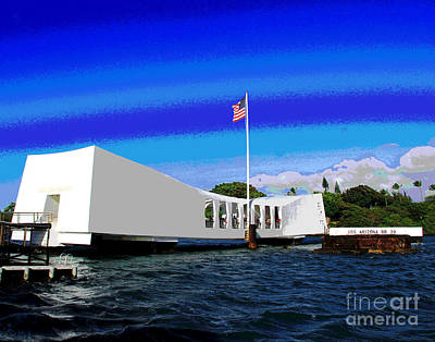 Photograph - Uss Arizona by Larry Oskin