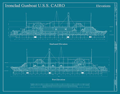 Photograph - Uss Cairo Gunboat by Andrew Fare