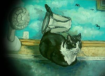 Uss Catboat Art Print
