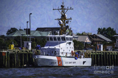 Photograph - Us Coast Guard by Dale Powell