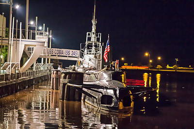 Nikki Vig Royalty-Free and Rights-Managed Images - USS Cobia by Nikki Vig