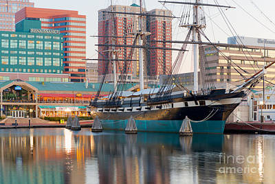 Photograph - Uss Constellation I by Clarence Holmes
