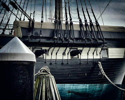 Photograph - Uss Constellation In Baltimore Inner Harbor by Bill Swartwout