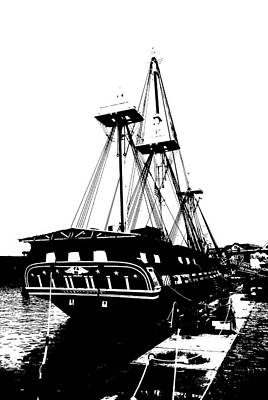 Photograph - Uss Constitution 2 by Charlie and Norma Brock