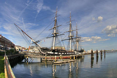 Photograph - Uss Constitution 2 by Joann Vitali