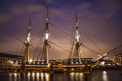 Uss Constitution Boston   Art Print