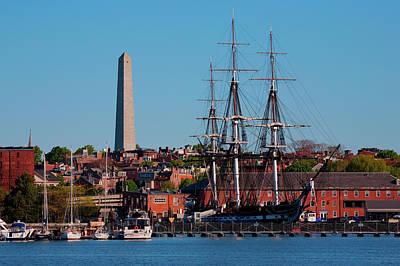 Uss Constitution Historic Ship, Old Art Print