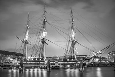 Photograph - Uss Constitution Skip by John McGraw