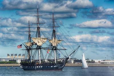 Moody Trees - USS Constitution Turnaround by John Donovan