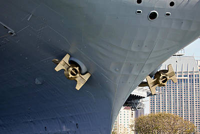Uss Midway Photograph - Uss Midway by Steven Lapkin