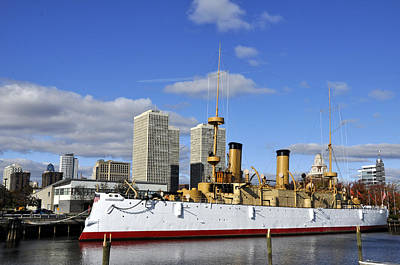 Photograph - Uss Olympia by Andrew Dinh
