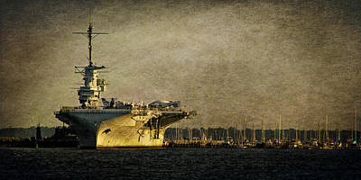 Photograph - Uss Yorktown Cv10 by E Karl Braun