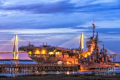 Uss Yorktown Museum Art Print by Jerry Fornarotto