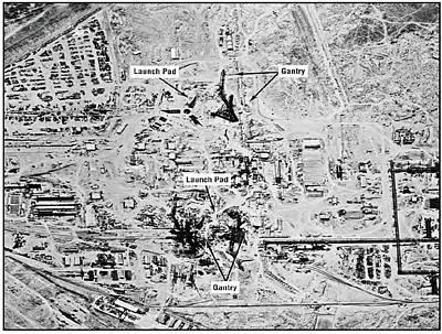 Big Birds Photograph - Ussr Missile Test Range by National Reconnaissance Office
