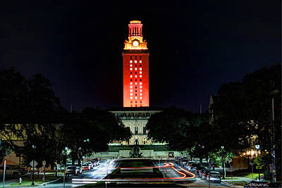 Ut Tower Photograph - Ut Tower 50 by Andrew Nourse