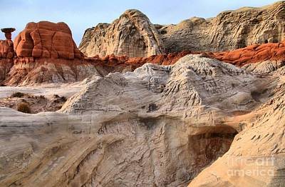 Photograph - Utah Badlands by Adam Jewell