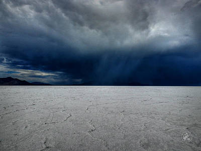 Photograph - Utah - Bonneville Salt Flats 001 by Lance Vaughn
