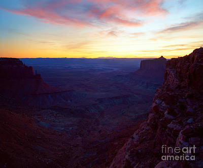 Photograph - Utah - Canyonlands National Park Sunset by Terry Elniski