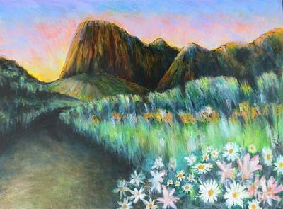 Utah Capital Reef Park Art Print