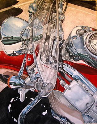Painting - Utah Chrome by Lance Wurst