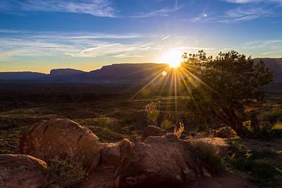 Still Life Photograph - Utah Desert Sunset by Michael J Bauer