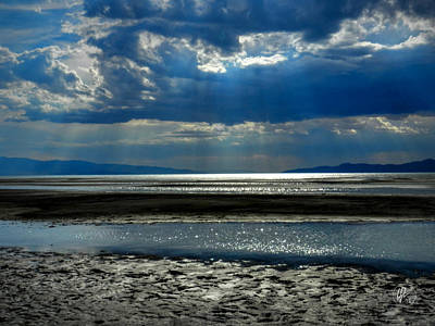 Photograph - Utah - Great Salt Lake 001 by Lance Vaughn