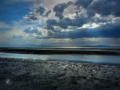 Photograph - Utah - Great Salt Lake 002 by Lance Vaughn