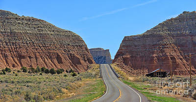 Cannonville Photograph - Utah Highway by Jack Schultz