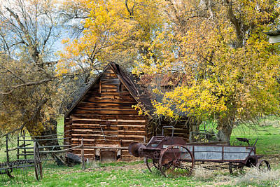 Photograph - Utah Homestead by Kathleen Bishop