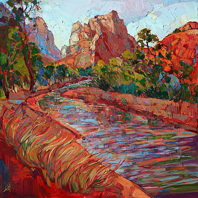 Utah In Color Art Print by Erin Hanson