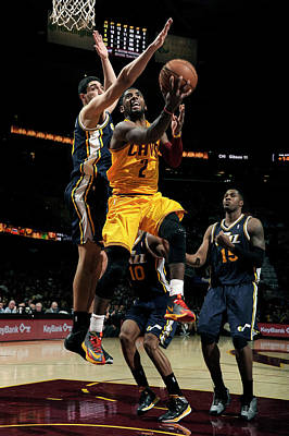 Photograph - Utah Jazz V Cleveland Cavaliers by David Liam Kyle