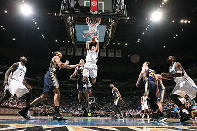 Photograph - Utah Jazz V Minnesota Timberwolves by David Sherman