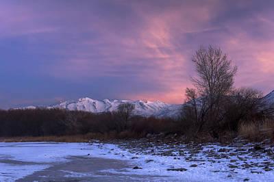 Photograph - Utah Lake Dawn by Dustin  LeFevre