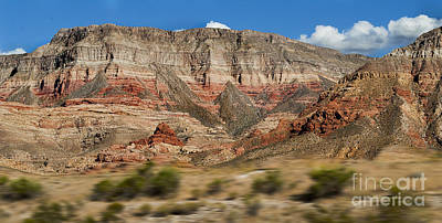 Photograph - Utah Landscape by MaryJane Armstrong