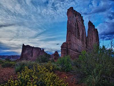 Photograph - Utah Obelisk by Rob Wilson