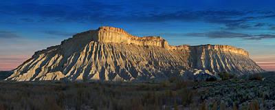 Southwest Landscape Digital Art - Utah Outback 40 Panoramic by Mike McGlothlen
