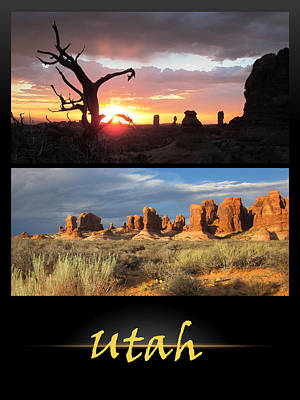 Photograph - Utah Poster by Nina Donner