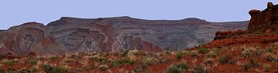 Utah Red Rock Mountains Art Print