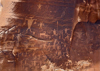 Photograph - Utah Rock Art by Jean Clark